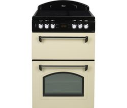 LEISURE CLA60CEC 60 cm Electric Ceramic Cooker - Cream & Black Best Price, Cheapest Prices