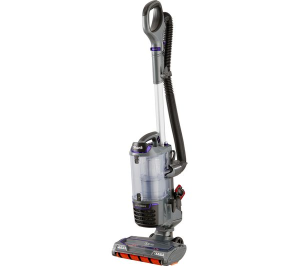 Image of SHARK DuoClean Lift-Away NV700UK Upright Bagless Vacuum Cleaner - Grey & Purple