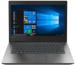 "LENOVO 330-14AST 14"" AMD A6 Laptop - 1 TB HDD, Black & Silver"