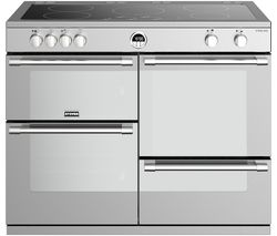 Sterling S1100Ei 110 cm Electric Induction Range Cooker - Stainless Steel