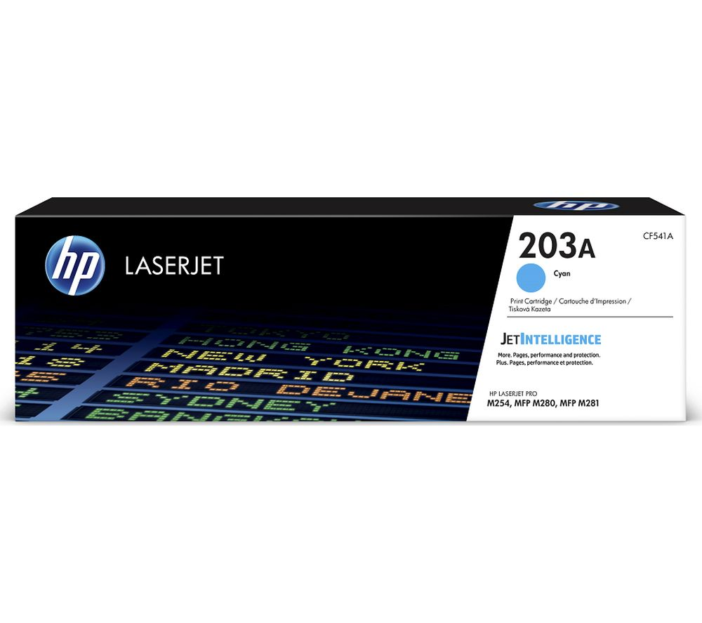 HP 203A Cyan Toner Cartridge