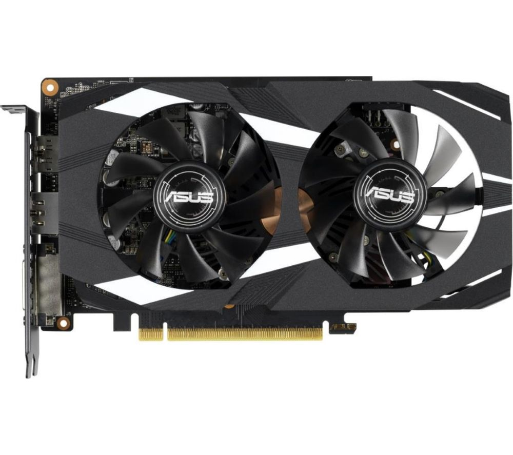 ASUS GeForce GTX 1660 Ti 6 GB Dual OC Graphics Card