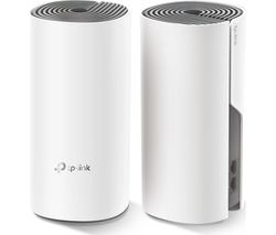 TP-LINK Deco E4 Whole Home WiFi System - Twin Pack