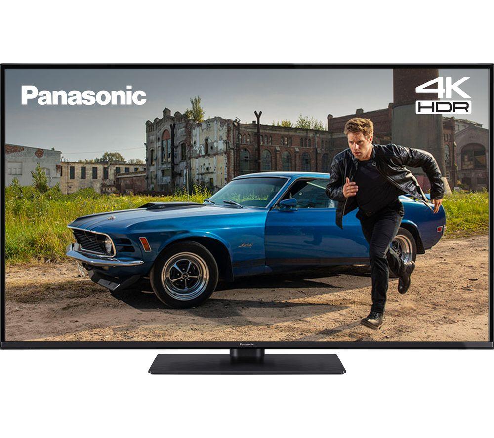 "Image of 55"" PANASONIC TX-55GX555B Smart 4K Ultra HD HDR LED TV, Silver"