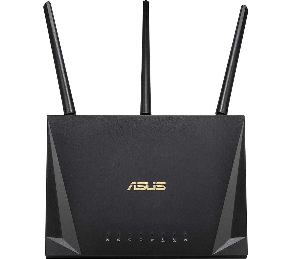 ASUS RT-AC85P WiFi Cable & Fibre Router - AC 2400, Dual-band