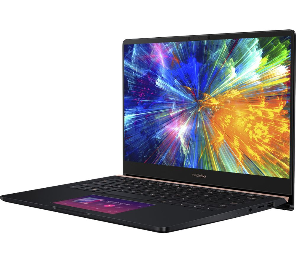 Image of ASUS ZenBook Pro UX480FD 14? Intel®? Core™? i7 Laptop - 512 GB SSD, Navy, Navy