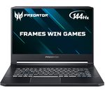 £1699, ACER Predator Triton 500 15.6inch Gaming Laptop - Intel® Core™ i7, RTX 2060, 512 GB SSD, Intel® Core™ i7-9750H Processor, RAM: 16GB / Storage: 512GB SSD, Graphics: NVIDIA GeForce RTX 2060 6GB, 202 FPS when playing Fortnite at 1080p, Full HD display / 144 Hz,