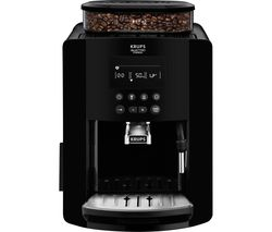 KRUPS Arabica Digital Espresso EA817040 Bean to Cup Coffee Machine - Black Best Price, Cheapest Prices