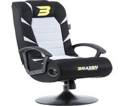 Pride 2.1 Wireless Bluetooth Gaming Chair - White & Black
