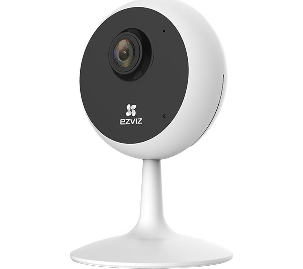 EZVIZ C1C HD 720p WiFi Indoor Security Camera - White, White