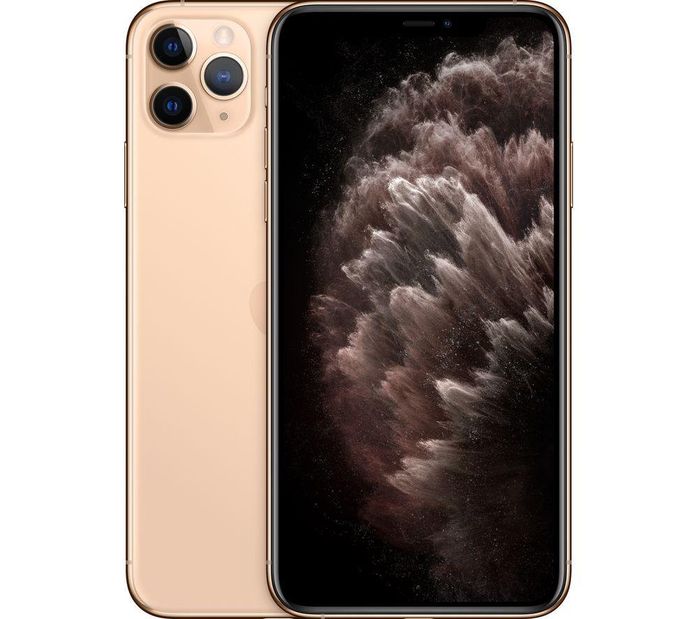 APPLE iPhone 11 Pro Max - 64 GB, Gold
