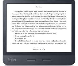 "KOBO Libra H20 7"" eReader - 8 GB, Black"