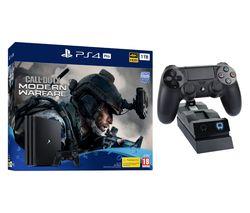 SONY PlayStation 4 Pro with Call of Duty: Modern Warfare & Twin Docking Station Bundle