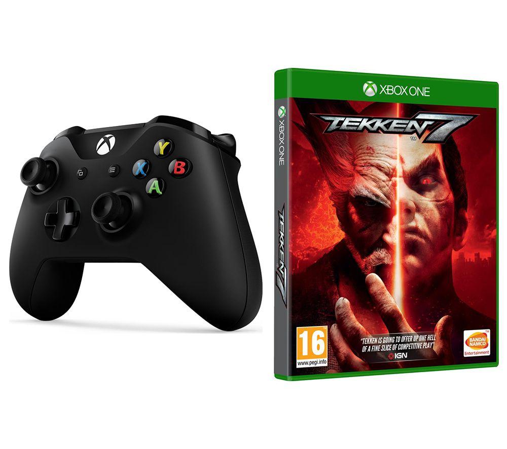 MICROSOFT Xbox One Wireless Controller & Tekken 7 Bundle