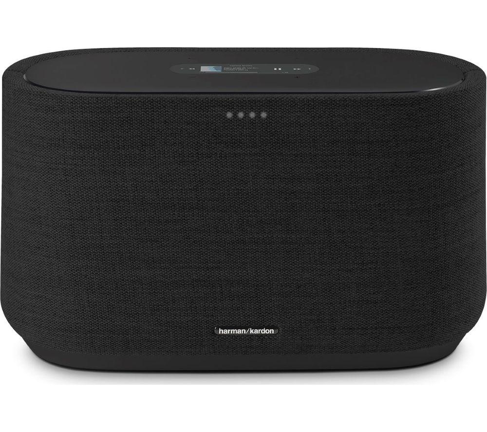 Image of HARMAN KARDON Citation 300 Bluetooth Multi-room Speaker with Google Assistant - Black, Black