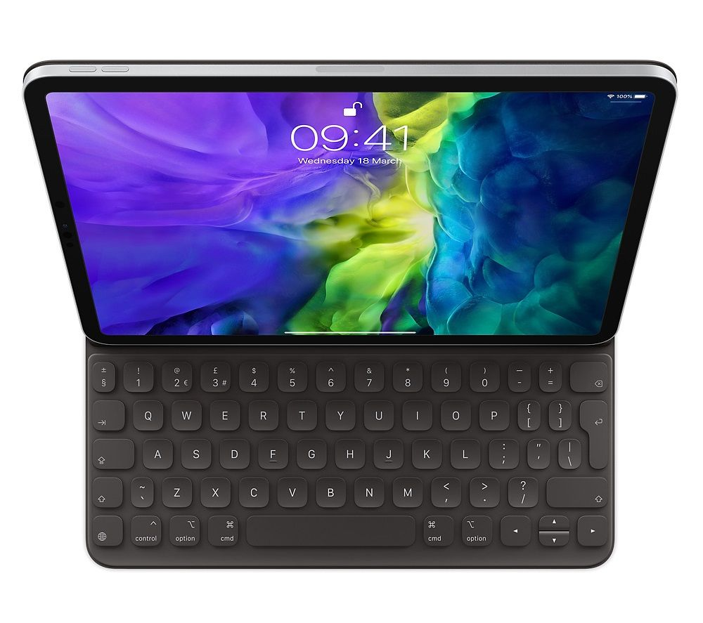 APPLE 12.9 inch iPad Pro Smart Keyboard Folio Case - Black