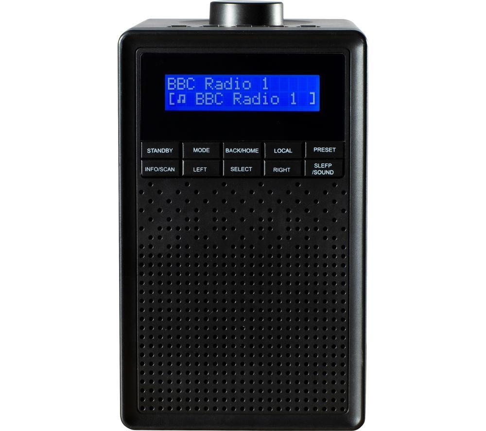Image of DAEWOO AVS1400 DAB/FM Bluetooth Radio - Black, Black