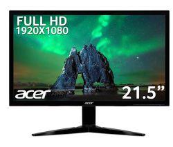 """KG221QAbmix Full HD 21.5"""" LED Monitor - Black"""