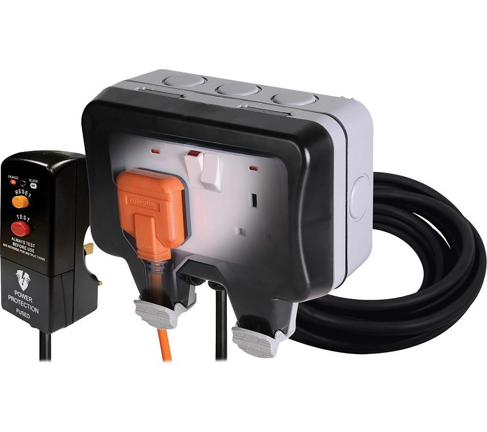 BG ELECTRICAL Nexus Storm WP22KIT/3-01 Outdoor Power Kit