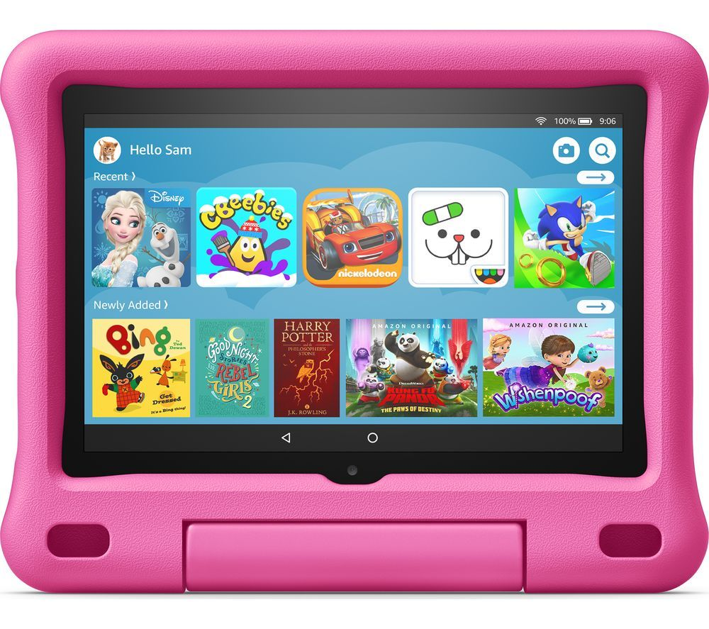 "Image of AMAZON Fire HD 8"" Kids Edition Tablet (2020) - 32 GB, Pink, Pink"