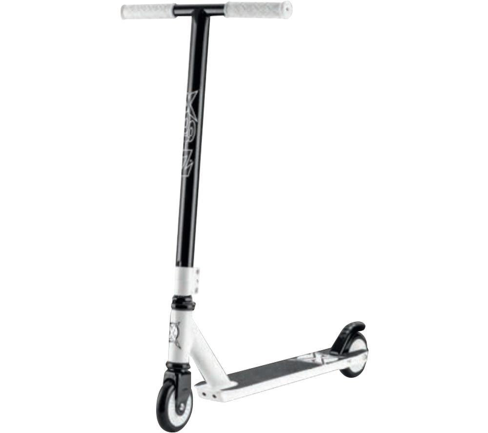 XOOTZ Invert TY5767 Stunt Scooter - White & Black, White
