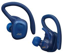 HA-ET45T-A Wireless Bluetooth Sports Earphones - Blue