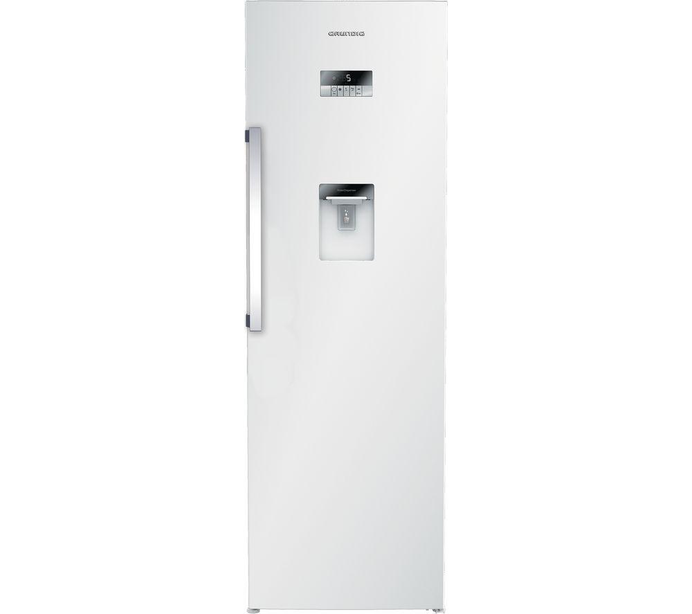 GRUNDIG GSN30710DW Tall Fridge - White, White