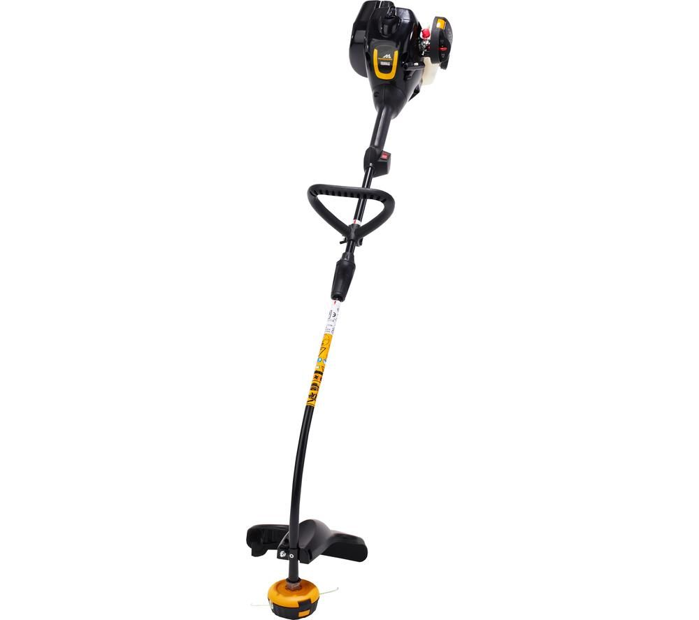 Image of MCCULLOCH Trimmac Grass Trimmer - Black & Yellow, Black