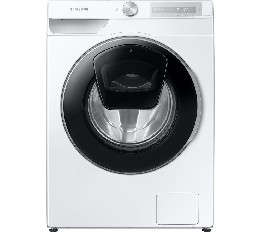 SAMSUNG Series 6 AddWash + Auto Dose WW10T684DLH/S1 WiFi-enabled 10.5 kg 1400 Spin Washing Machine - White