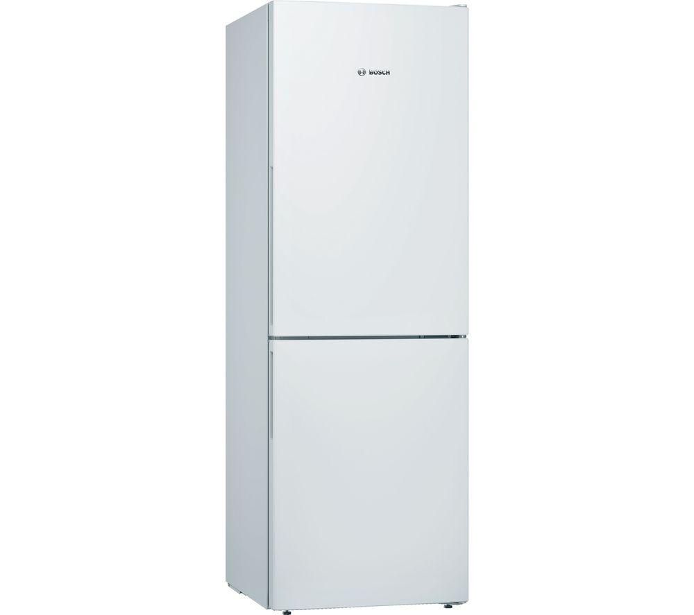 BOSCH Serie 4 KGV336WEAG 60/40 Fridge Freezer - White