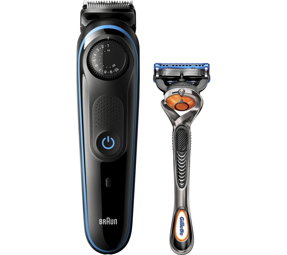 BRAUN BRABT3240 Trimmer Kit - Blue & Black