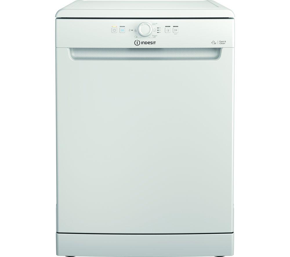 INDESIT DFE 1B19 UK Full-size Dishwasher - White