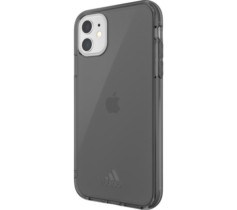 ADIDAS iPhone 11 SP Protective Case - Transparent Black, Transparent