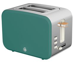 Nordic ST14610GREN 2-Slice Toaster - Pine Green