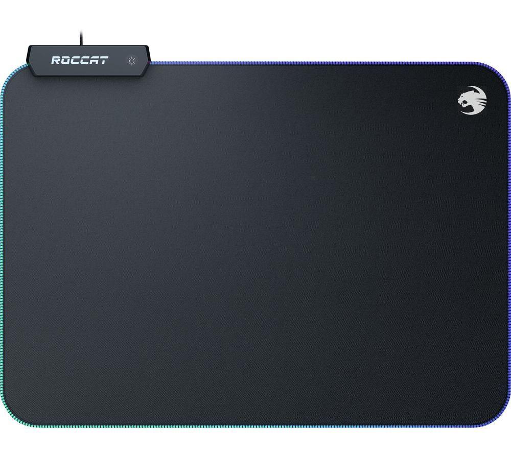 Image of ROCCAT Sense AIMO Gaming Surface - Black, Black
