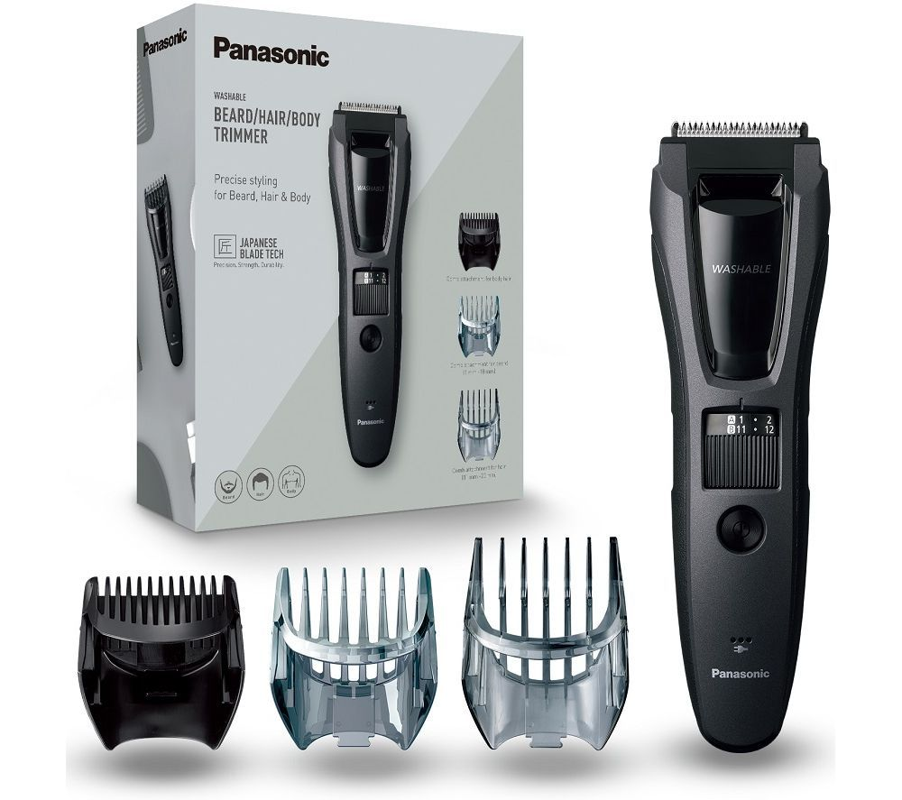 PANASONIC ER-GB62 Beard & Hair Trimmer - Grey