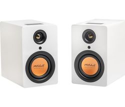 Acoustics uStream One Bluetooth Bookshelf Speakers - White