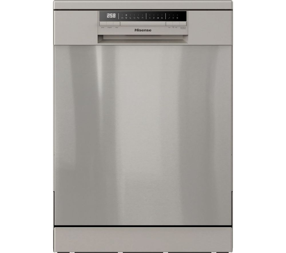 HISENSE HS60240XUK Full-Size Dishwasher - Stainless Steel