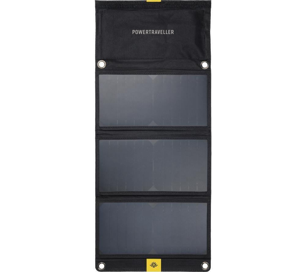 POWERTRAVELLER Falcon 21 Foldable Multi-Voltage Solar Panel Charger - 2 m