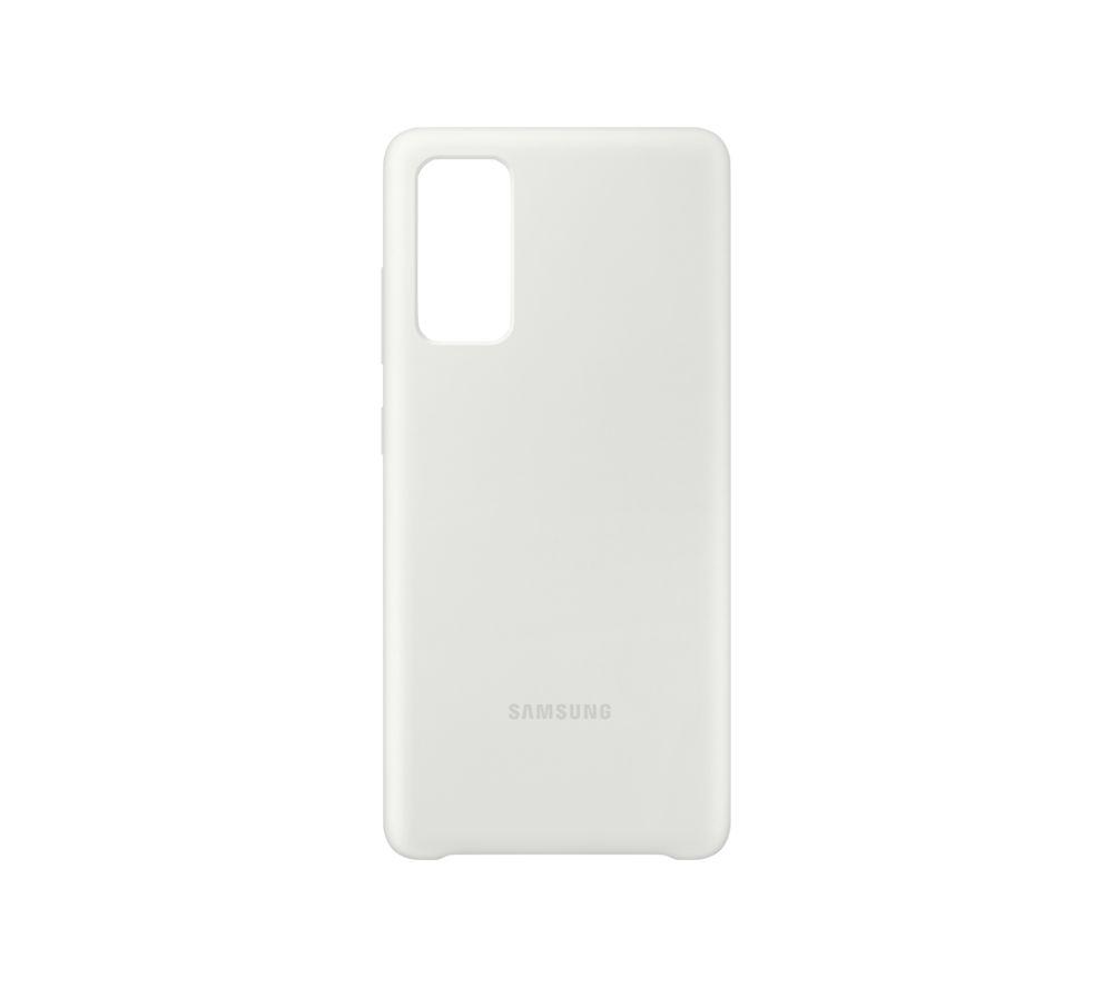 SAMSUNG Galaxy S20 Fan Edition Silicone Case - White, White