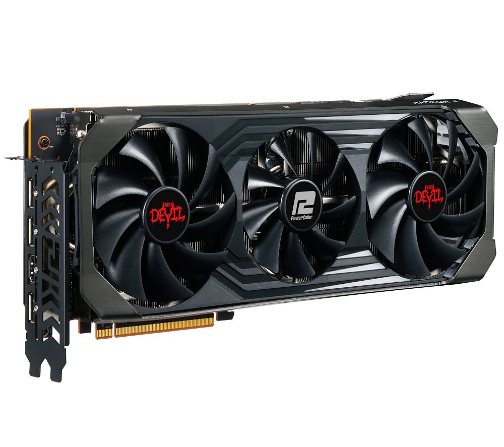 Image of POWERCOLOUR Radeon RX 6700 XT 12 GB RED DEVIL Graphics Card, Red