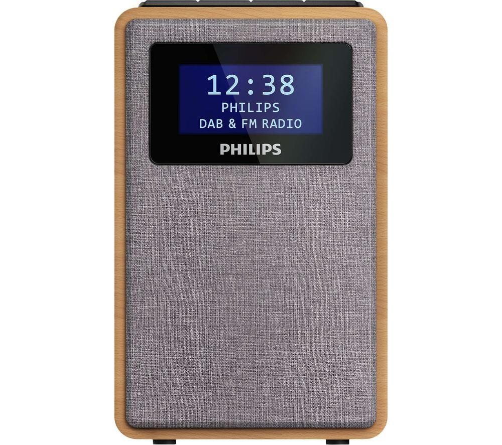 PHILIPS TAR5005/10 DAB+/FM Radio - Light Wood