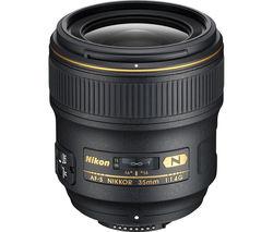 NIKON AF-S NIKKOR 35 mm f/1.4G Wide-angle Prime Lens