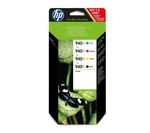 HP 940XL Cyan, Magenta, Yellow & Black Ink Cartridges - Multipack