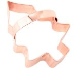 EDDINGTONS Christmas Tree Cookie Cutter - Copper