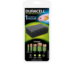 DURACELL Hi-Speed MultiCharger Battery Charger