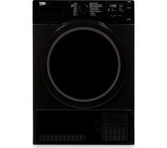BEKO DCX83100B Condenser Tumble Dryer - Black