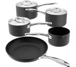 STELLAR 6000 5-piece Non-stick Pan Set - Grey