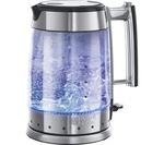 RUSSELL HOBBS 20780 Glass Line Jug Kettle - Stainless Steel