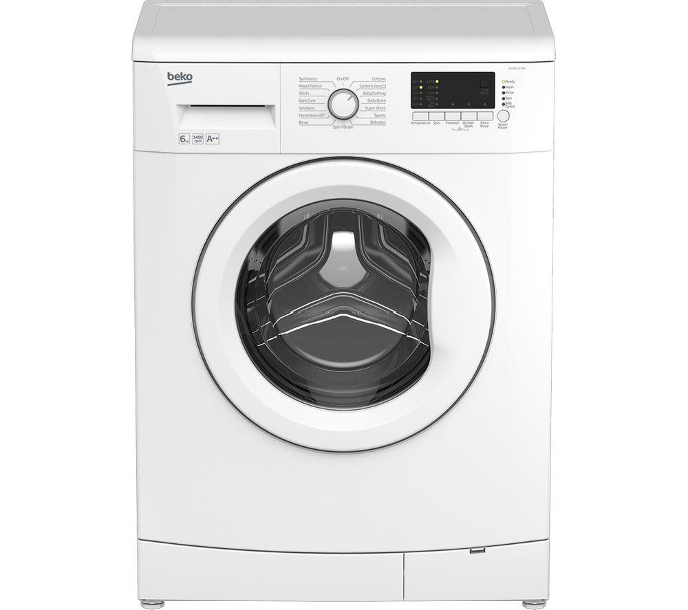 BEKO WMB61432W Washing Machine - White + DCX83100W Condenser Tumble Dryer - White